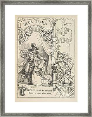 Bluebeard Framed Print by British Library