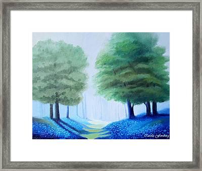 Bluebells Framed Print by Carola Ann-Margret Forsberg