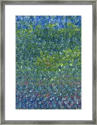 Bluebells Framed Print by Leigh Glover