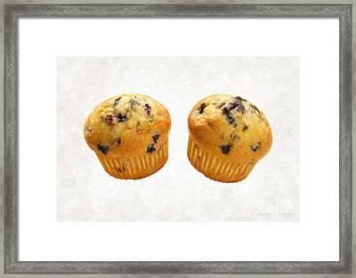 Blueberry Muffins Framed Print by Danny Smythe
