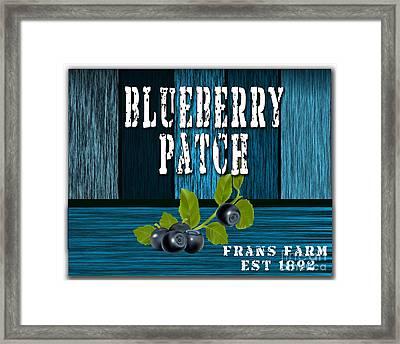 Blueberrys Framed Print