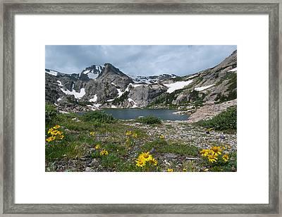 Bluebird Lake - Colorado Framed Print