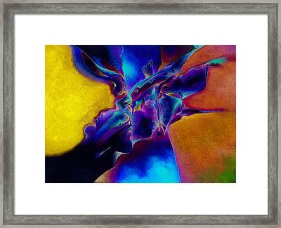 Bluebox Framed Print by Bodhi
