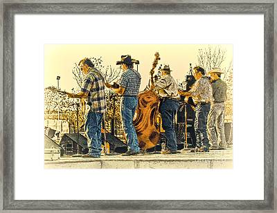 Bluegrass Evening Framed Print by Robert Frederick