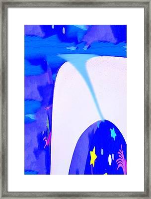 Bluenado Framed Print by Bruce Iorio