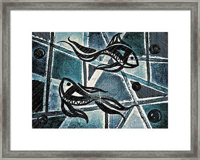 Blues 2 Framed Print by Kiara Reynolds