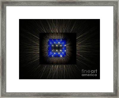 Blues-3 Framed Print by Baljit Chadha
