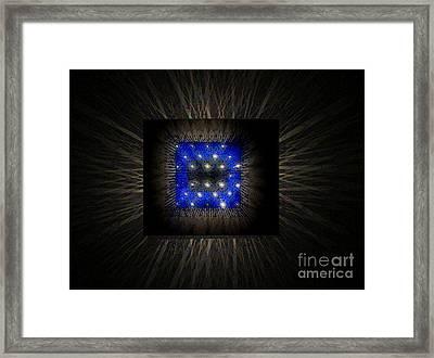 Blues-3 Framed Print by Baljit Chadha