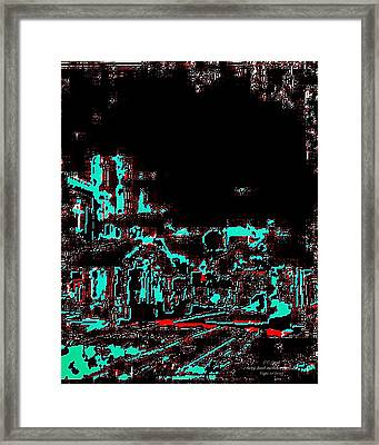 Blood Alley Framed Print by Larry E Lamb