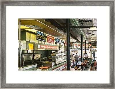 Blues City Cafe Framed Print by Jon Woodhams