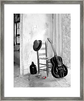 Blues Framed Print by EG Kight