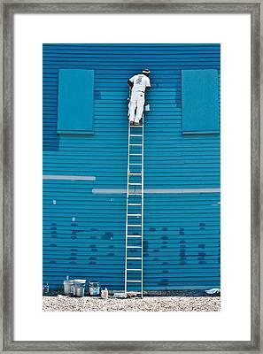Blues Expert Framed Print by David Scott
