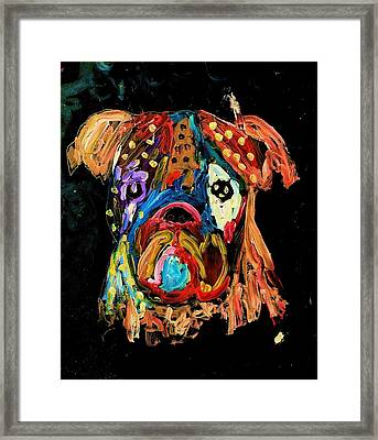 Blues For Bones Framed Print