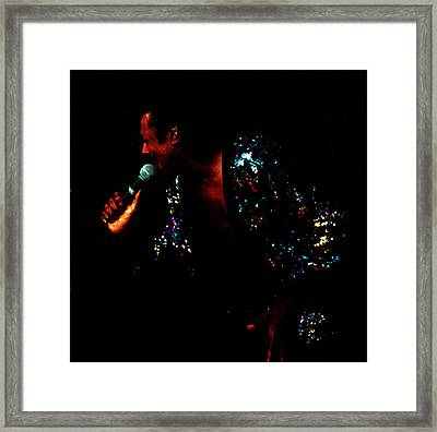 Blues Lover Framed Print by Leon Hollins III