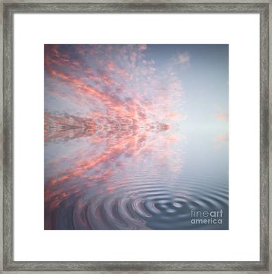 Blues Reflection Framed Print by Holly Martin