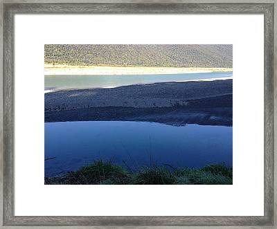 Blues Framed Print by Ron Torborg