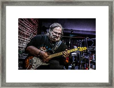 Bluesman Framed Print by Ray Congrove