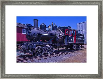 Bluestone Train Number One Framed Print