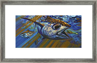 Bluewater Hellraisers Framed Print by Savlen Art