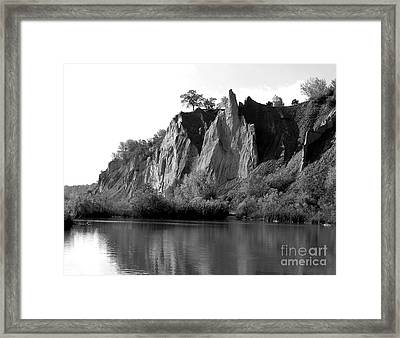 Bluffers Park Toronto Canada Framed Print by Susan  Dimitrakopoulos