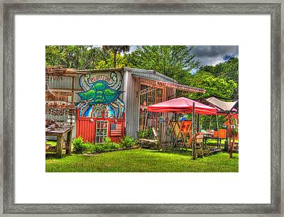 Bluffton Gallery Framed Print