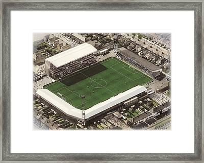 Blundell Park - Grimsby Town Framed Print