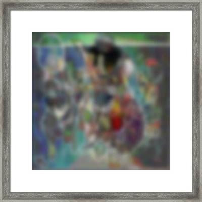 Blur #2 Framed Print by George Curington