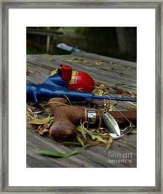 Framed Print featuring the photograph Blured Memories 01 by Peter Piatt