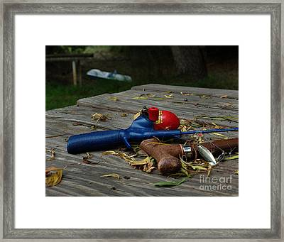 Blured Memories 02 Framed Print by Peter Piatt
