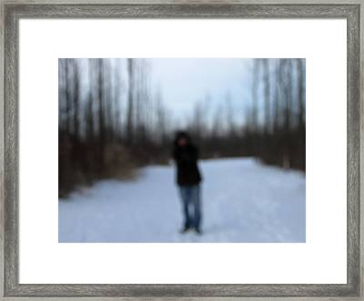 Blurred To Distraction Framed Print