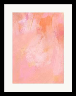 Blushing Framed Prints