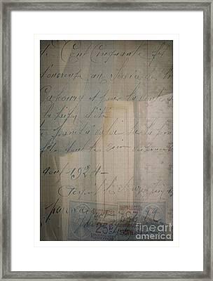Blush Of Light Framed Print