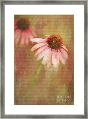 Framed Print featuring the painting Blushing by Linda Blair