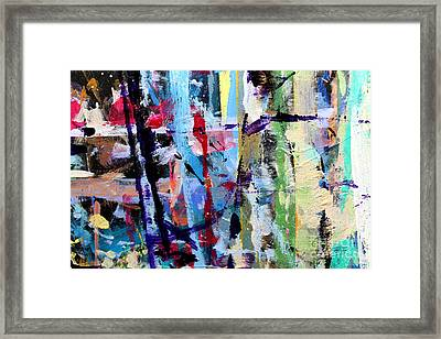 Blustery Timbers Framed Print