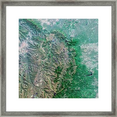 Blyde River Canyon Framed Print