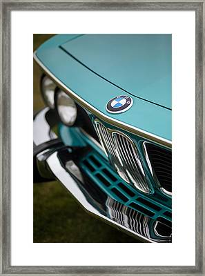 Bmw 3.0 Cs Front Framed Print