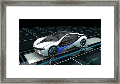 Bmw Concept Car Framed Print