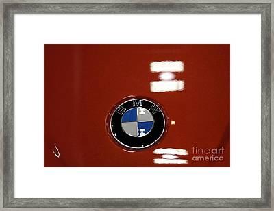 Bmw Emblem - 5d20322 Framed Print