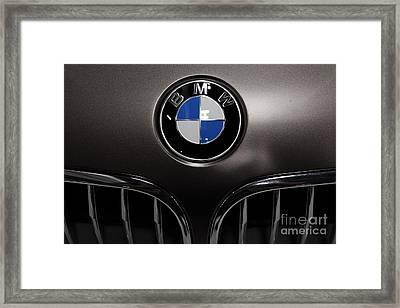 Bmw Emblem - 5d20323 Framed Print