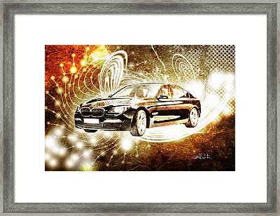 bmw Framed Print by Isabel Salvador