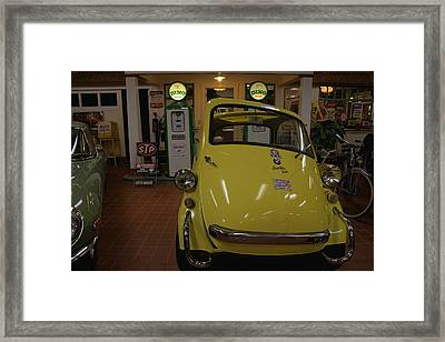 Bmw Isetta Framed Print