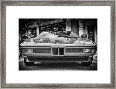 Bmw M1 Framed Print by Giovanni Arroyo