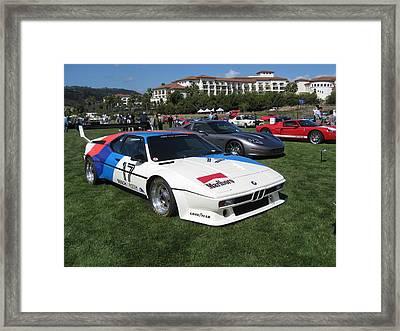 Bmw M1 Procar  Framed Print by MAG Autosport