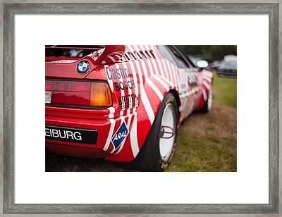 Bmw M1 Racecar Framed Print by Mike Reid