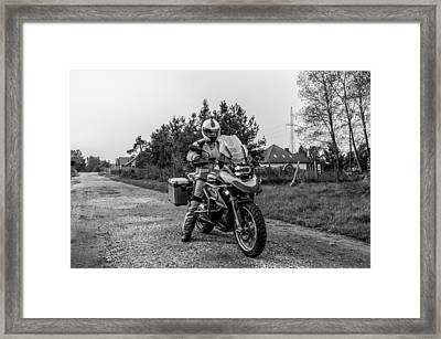 Bmw R 1200 Gs Framed Print