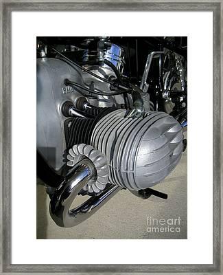 Bmw R60/2 1959 Airhead Framed Print by RadFab Custom Creations