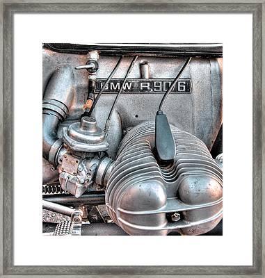 Bmw R90/6 Framed Print by Britt Runyon