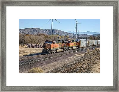 Bnsf 7454 Framed Print