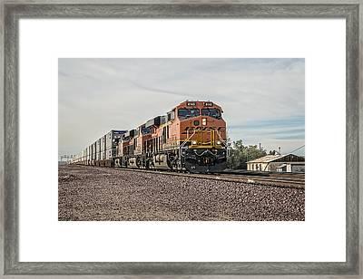 Bnsf 8145 Framed Print by Jim Thompson