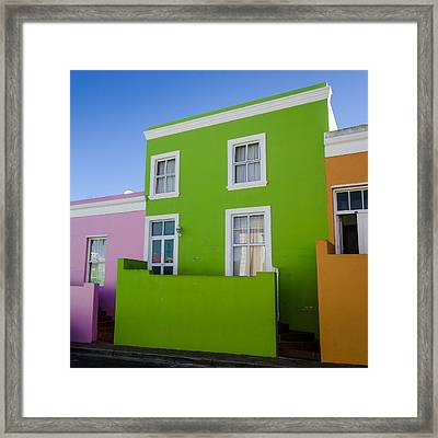 Bo Kaap Colour Framed Print